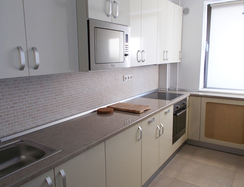 Bucharest Apartment Kitchen